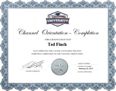 free channel manager training